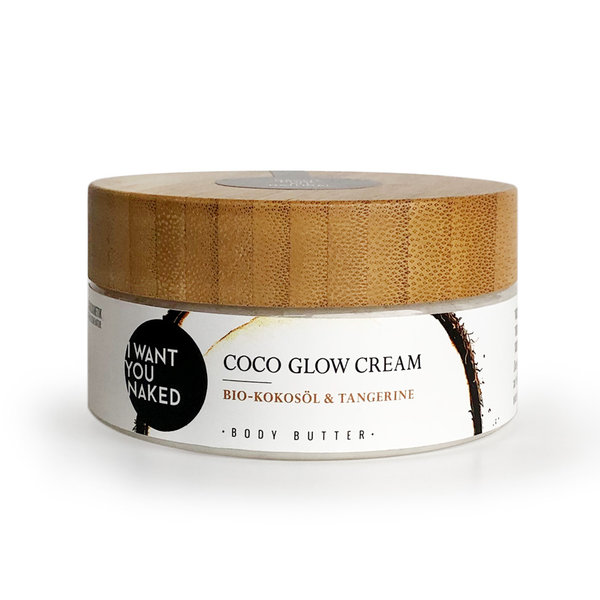 I WANT YOU NAKED Coco Glow Cream Body Butter mit Bio-Kokosöl