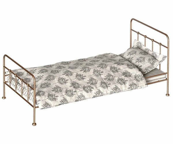 MAILEG - BETT VINTAGE GOLD (Medium)