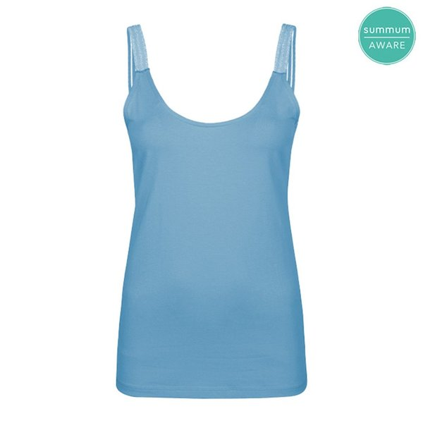 Summum NEU Basic Top hellblau